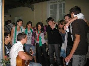 Lourdes - camp jeunes