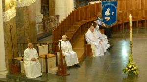 messe ouverture basilique Rosaire
