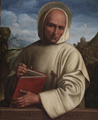 Saint Bruno fondateur de l'Ordre des Chartreux